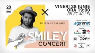Concert Smiley la Constanța. Circulație restrictionată