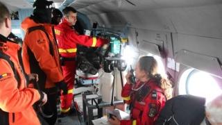Elicopterul MAI, solicitat pentru salvarea unor alpinişti rătăciţi în Munţii Retezat