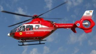 Accident grav în localitatea Făclia! Intervine elicopterul SMURD!