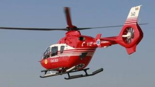Accident între Mihai Viteazu şi Tariverde! Elicopterul SMURD a intervenit!