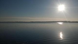 Soare capricios pe cerul Dobrogei