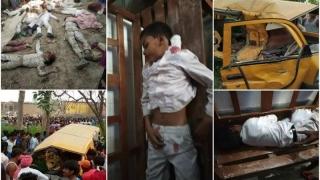 Şoc! 23 de copii au murit! Autobuzul în care se aflau a fost lovit de tren