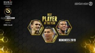 "Nominalizările la premiile ""Globe Soccer"" din 2018"