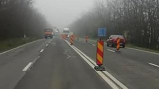 Șoferi, fiți precauți! Se lucrează pe drumul spre sudul litoralului!