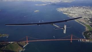 Penultimul zbor în jurul lumii al Avionului  Solar Impulse 2