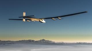 Avionul Solar Impulse 2 a părăsit Egiptul pentru ultima sa etapă în jurul lumii