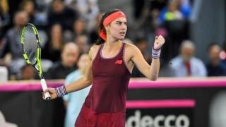 Cîrstea este în optimi la Lugano, Ana Bogdan s-a calificat în sferturi, la Bogota