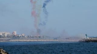 Mega-spectacol naval, la Cazino