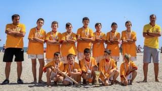 Spicul Horia, campioană naţională la oină pe plajă juniori