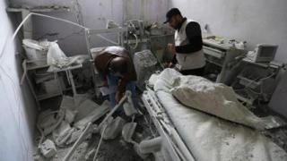 Spitalele, atacate cu bună ştiinţă în Siria