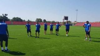 """Jucătorii de la SSC Farul au luat """"pulsul"""" stadionului """"Motorul"""" din Arad"""