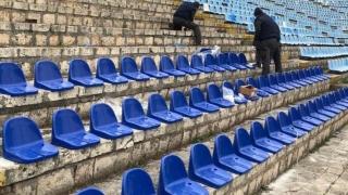"""Lucrări de reamenajare la Stadionul """"Gheorghe Hagi"""""""