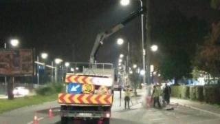 Fără stâlpi de beton pe bulevardul Mamaia din Constanța!