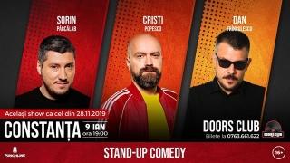 Stand Up Comedy cu Sorin Pârcălab, Popesco și Dan Frînculescu