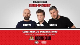 Stand up comedy cu Cristi, Toma și Sorin, în Constanța. Vezi unde
