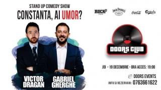 Umor de calitate în Constanța: Stand Up Comedy cu Gabriel Gherghe și Victor Drăgan
