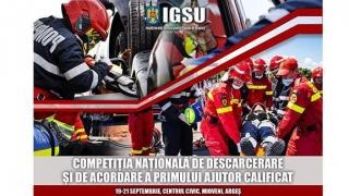 START Competiției Naționale de Descarcerare și de Acordare a Primului Ajutor Calificat!