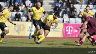 """""""Stejarii"""" au cedat în faţa Georgiei, în Rugby Europe Championship"""