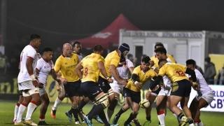 """""""Stejarii"""" au încheiat sezonul cu un eșec în fața naționalei din Tonga"""