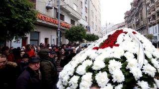 Stela Popescu, condusă pe ultimul drum cu onoruri militare