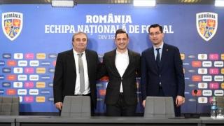 Rădoi a semnat contractul de selecționer al României