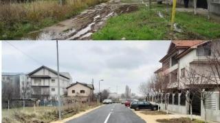 Strada din Constanța asfaltată cel mai recent
