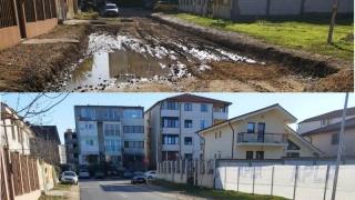 O nouă stradă finalizată în cartierul Compozitorilor din Constanța