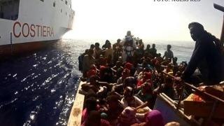 Sute de migranţi, debarcaţi în Sicilia! Teribila călătorie a luat sfârşit