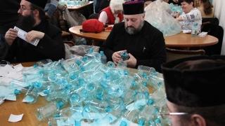 Peste o sută de mii de sticle cu Agheasma Mare vor ajunge la constănțeni