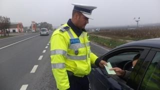 Sute de şoferi, lăsați fără permis