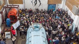 Sute de tineri cercetași la Centrul de Scafandri