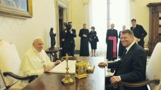 Președintele Klaus Iohannis va fi primit de Suveranul Pontif