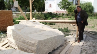 """Tabăra de creație """"Sculptura în tradiția creștină"""", la final"""