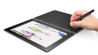 Yoga Book, o tabletă cu două suprafeţe touch