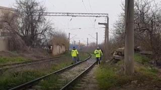 ACCIDENT CUMPLIT! Persoană tăiată de tren!