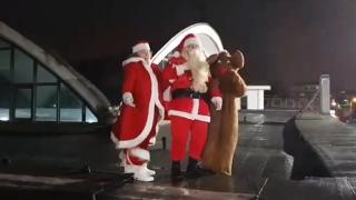 ATERIZARE CU PERIPEȚII! Moș Crăciun a ajuns în Tărâmul Magic!