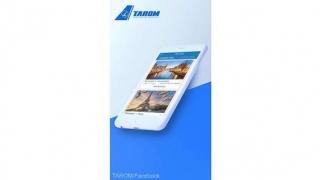 TAROM se retehnologizează! Aplicaţie pentru smart!