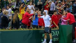 România - Polonia, în Cupa Davis, se va juca pe zgură