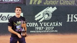 Tenismanul constănţean Ştefan Paloşi, învingător la Yucatan Cup