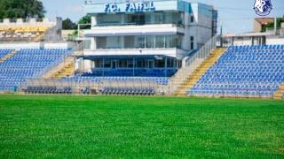 Cum se prezintă suprafaţa de joc a stadionului din strada Primăverii