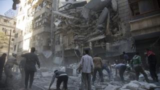 Teroriştii au atacat civilii cu gaz toxic! Alepul, sub teroare!