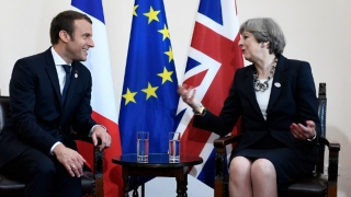 """Emmanuel Macron anunță un """"plan de acțiune"""" antiterorist împreună cu Londra"""
