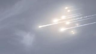 Spectacol pe cer la revenirea pe Pământ a stației spațiale chineze Tiangong 1