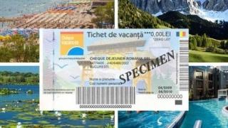 Tichetele de vacanță dezvoltă turismul intern