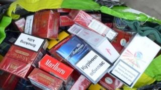 Fumatul dăunează grav LIBERTĂȚII! 9 cetățeni arestați pentru contrabandă cu țigări