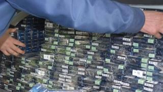 Percheziții. Peste 7.000 de pachete cu țigări de contrabandă, descoperite de Garda de Coastă