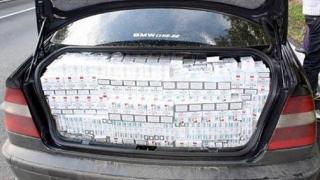 Ţigări de contrabandă în valoare de aproape 100.000 de euro, confiscate