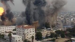 Ținte ale Hamas în Fâşia Gaza, bombardate de armata israeliană