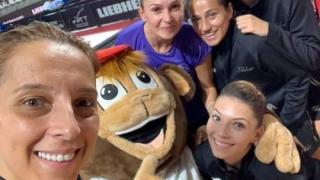 Echipa feminină a României, în semifinalele CE de tenis de masă