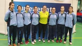 """Sportivele de la LPS """"Nicolae Rotaru"""" s-au impus la Cupa României la tenis de masă junioare I şi II"""